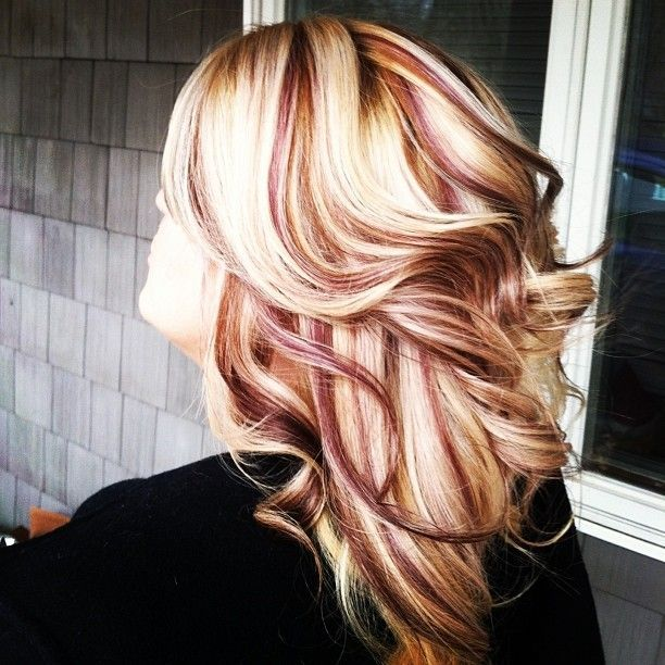 blond peekaboos - Google Search I want this but such the ...