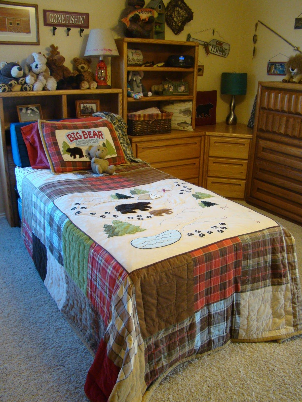 Lodge Bedding Fishing Lodge Bedding By Woolrich From