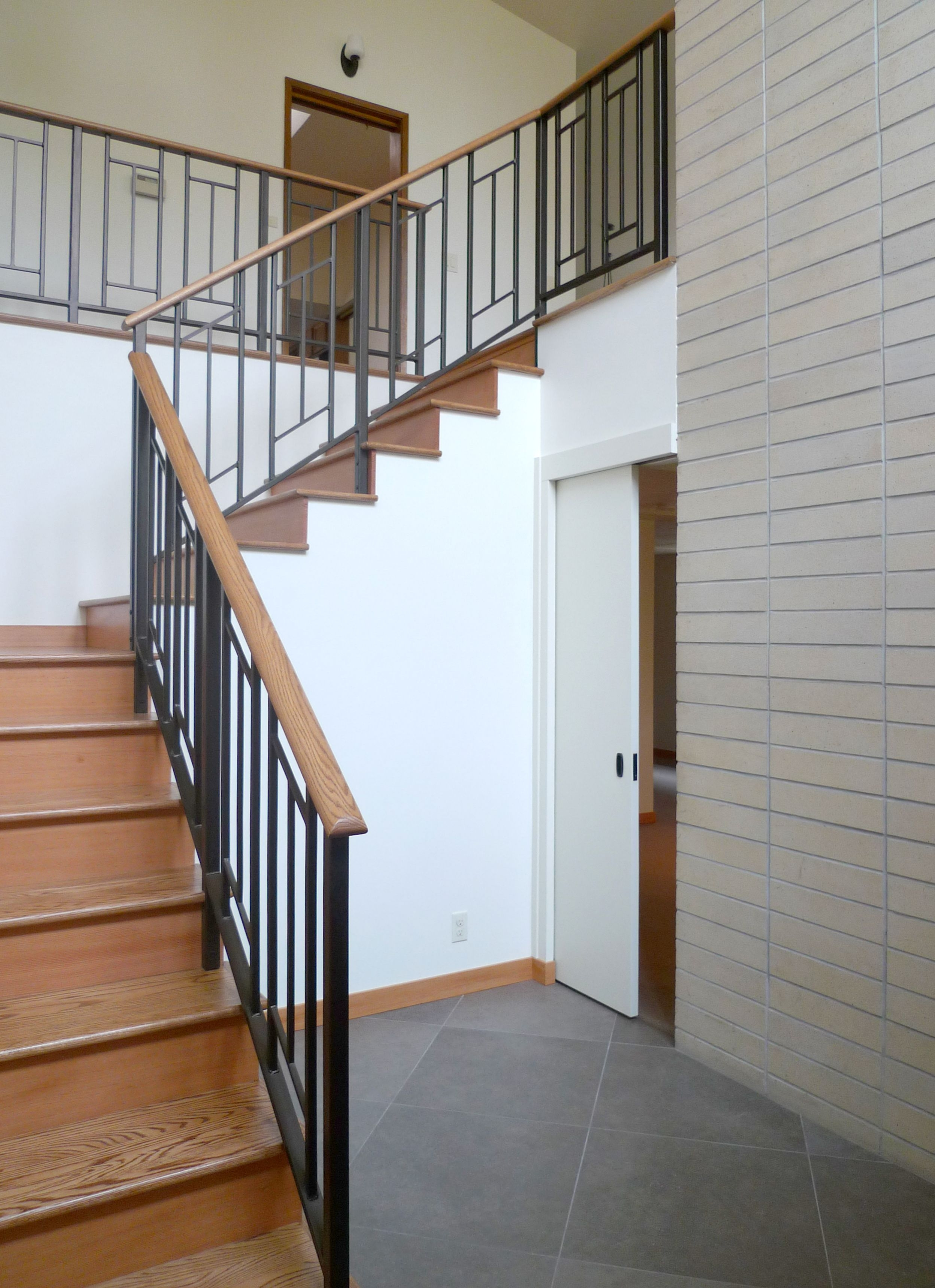 Mid Century Modern Sixties Makeover Live Work Play   Modern Banisters And Railings