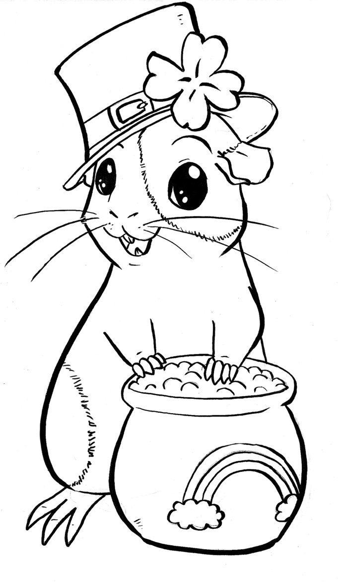 Forms Guinea Pig Coloring Pages To Download And Print For Free