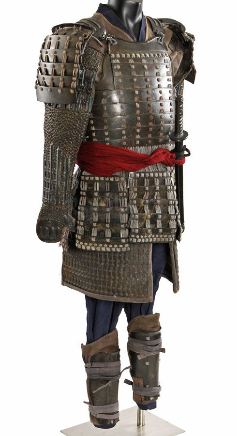 Samurai armor from the 2003 Tom Cruise movie The Last ...