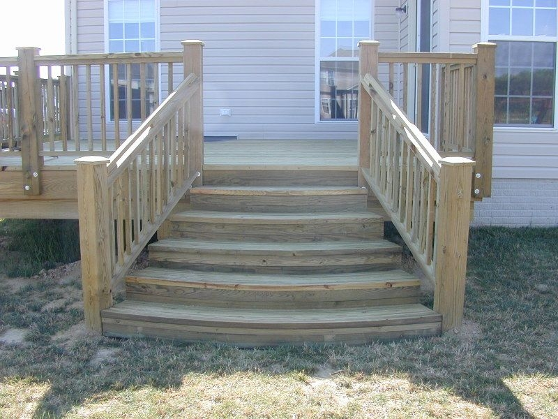 Building Deck Stairs Is A Step By Step Process Of How To | Making Steps For Decking