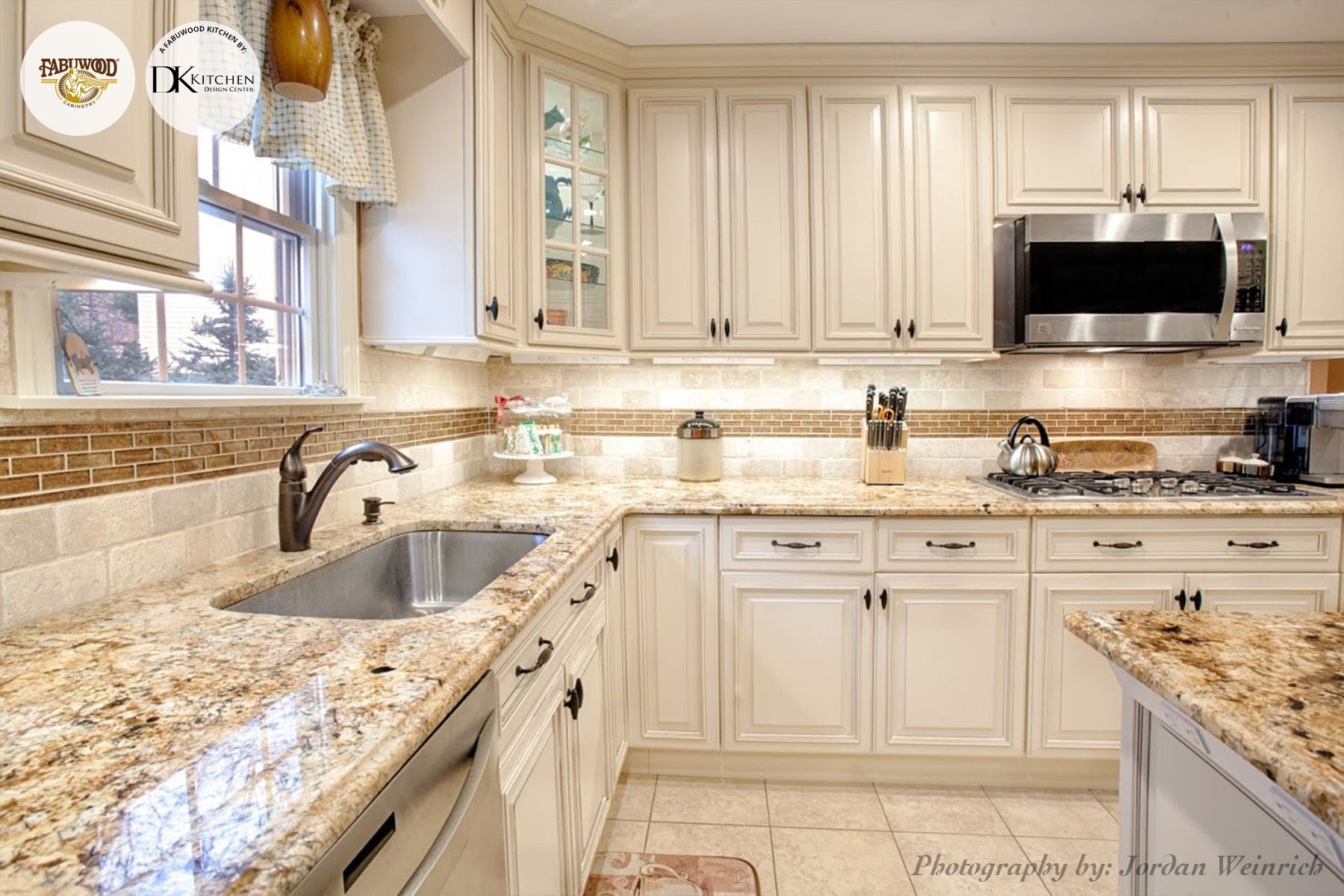 Best Kitchen Gallery: Another Stunning View Of The Wellington Kitchen In Ivory Glaze of Wellington Kitchen Cabinets on rachelxblog.com