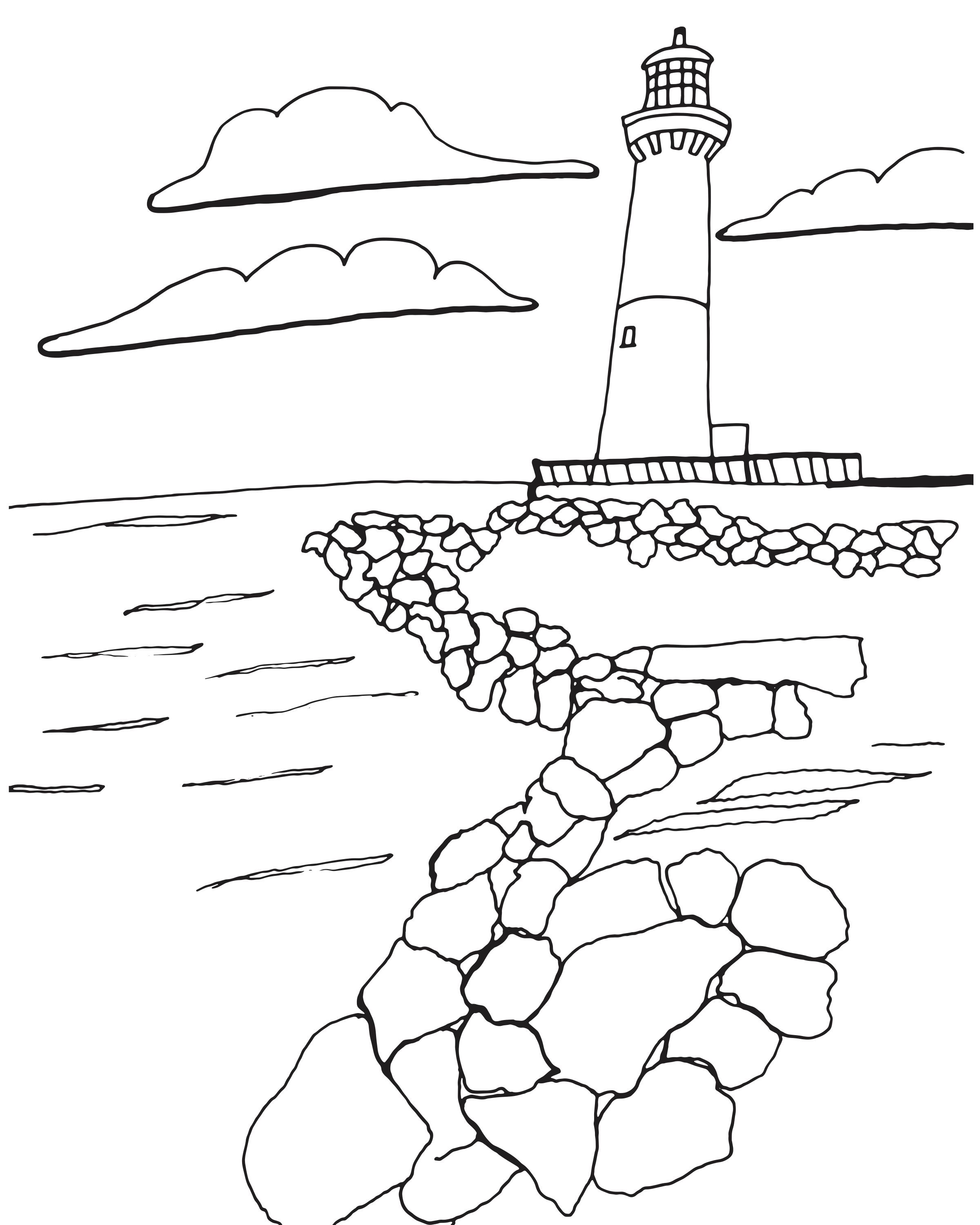 Sketch Of Old Barney Featured In The Colorful Coast Lbi Edition