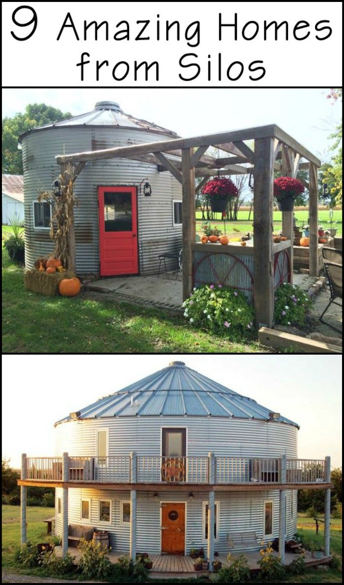 Best Kitchen Gallery: 9 Amazing Homes Prove That Silos Can Be So Much More Than Just of Grain Storage Containers Home  on rachelxblog.com
