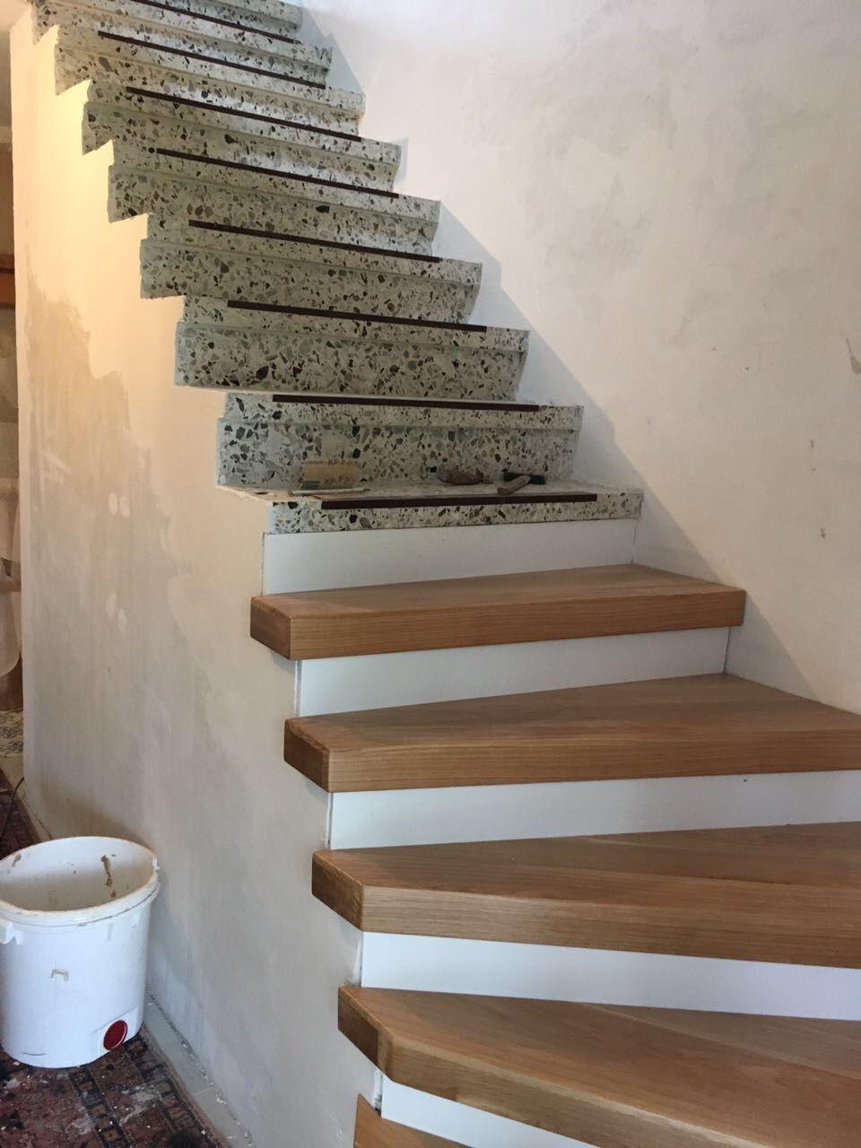 Terrazzo Treppe Renovierung Einrichten und Wohnen