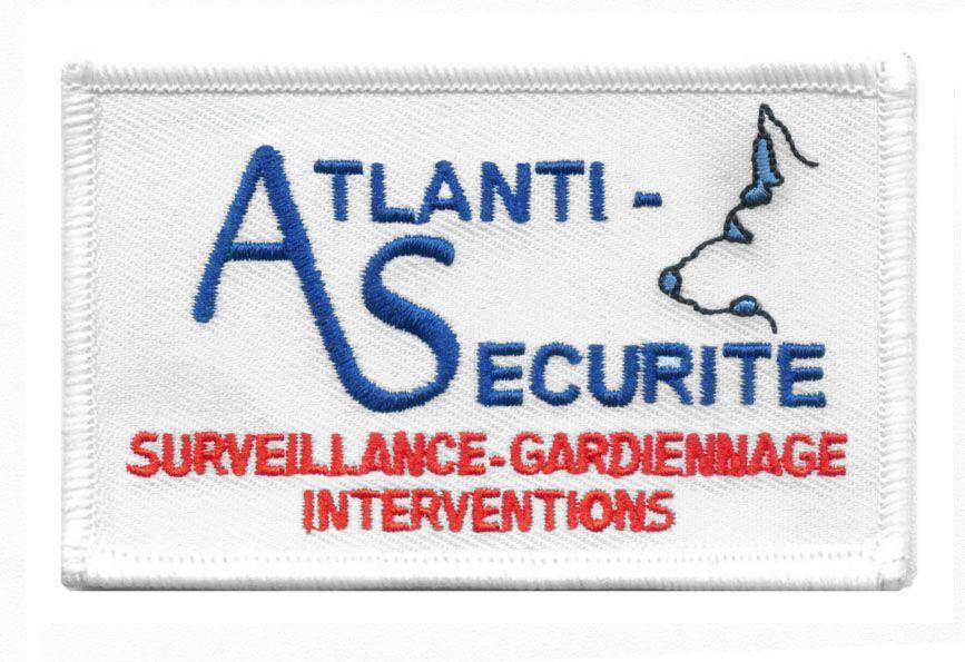 Ecusson Atlanti S 233 Curit 233 Surveillace Gardiennage