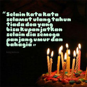 Kata Ucapan Selamat Ulang Tahun dan Doa Ulang Tahun Islami ...