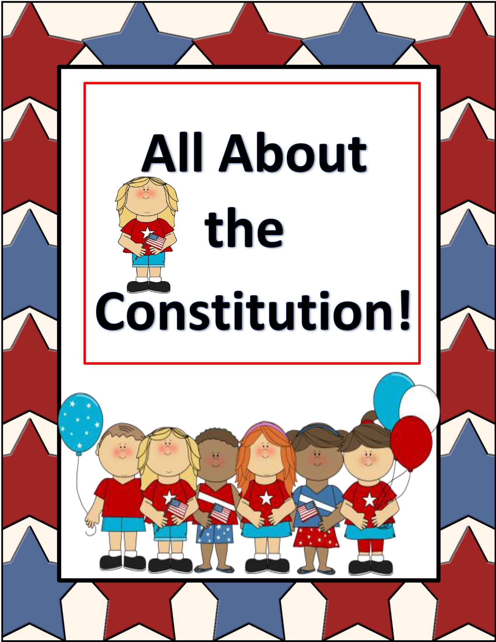 Constitution Day Constitution Week Activities Printables