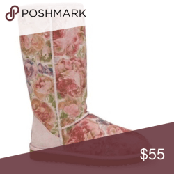 00a7fd54f59 Uggs With A Flower Print | Gardening: Flower and Vegetables