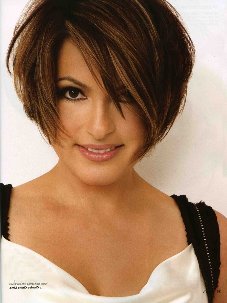 Image for Mariska Hargitay Short Hairstyles | Follicular ...