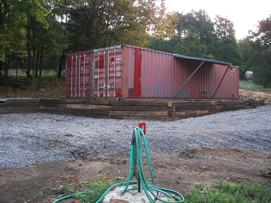 Best Kitchen Gallery: My Shipping Container Cabin Shelter Natural Building Forum At of Shipping Container Storm Shelter on rachelxblog.com