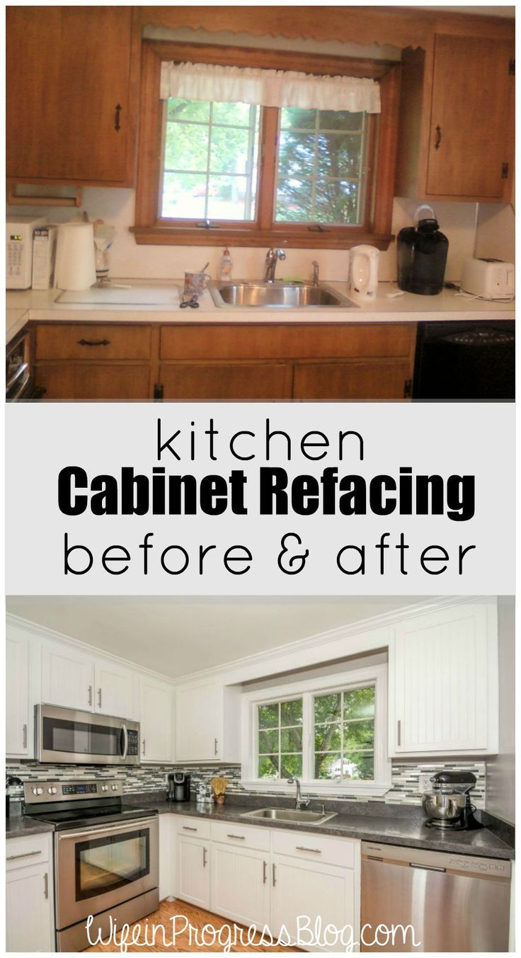 Best Kitchen Gallery: Kitchen Cabi Refacing A Cheaper Solution Than Ripping Out All of Kitchen Cabinet Refacing Before And After on cal-ite.com