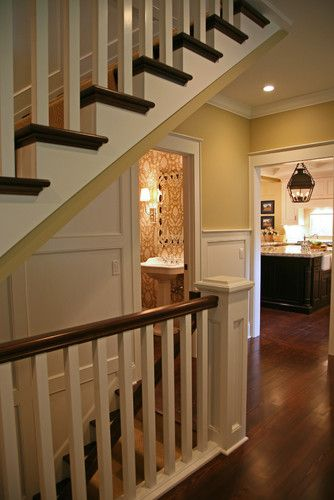 A Basement Door Remodeled And Wall Opened To Give An Open