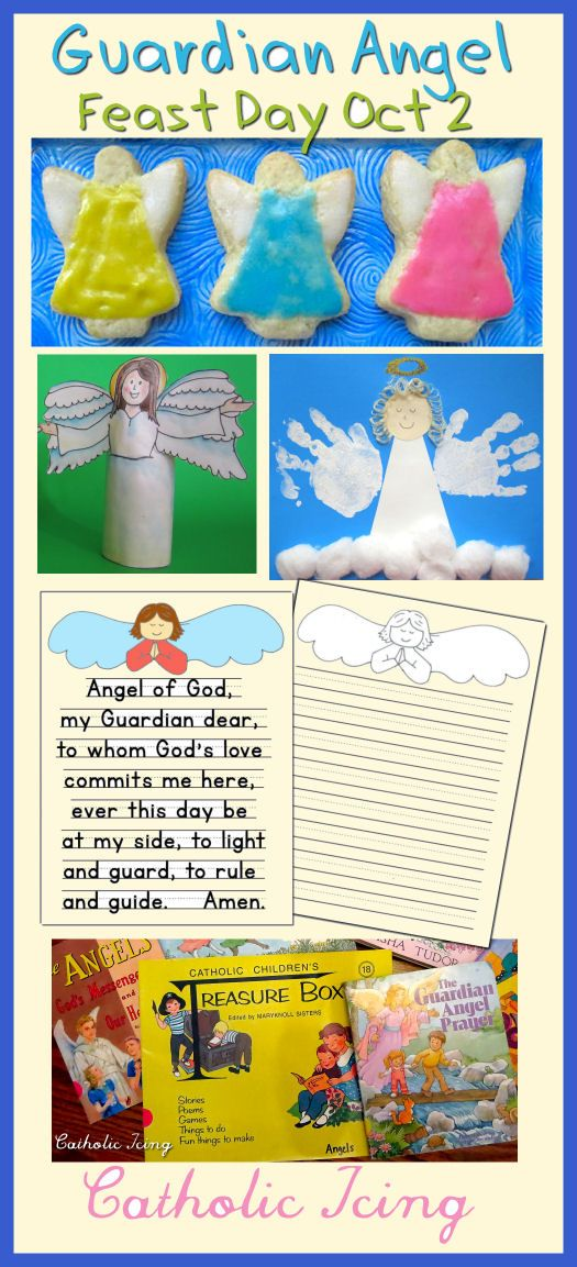 Feast Day Of Guardian Angels; 10 Ways To Celebrate ...