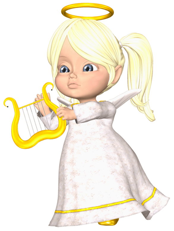 Cute Large Blond Angel PNG Clipart | angel | Pinterest ...