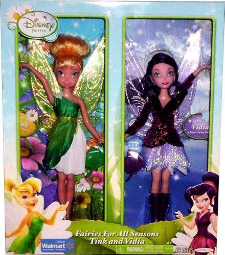 Disney Fairies For All Seasons ~ Tink and Vidia by Jakks ...