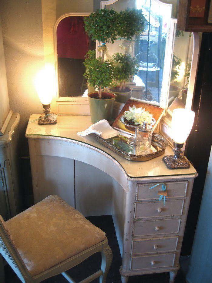 Deco Corner Vanity Pinteres