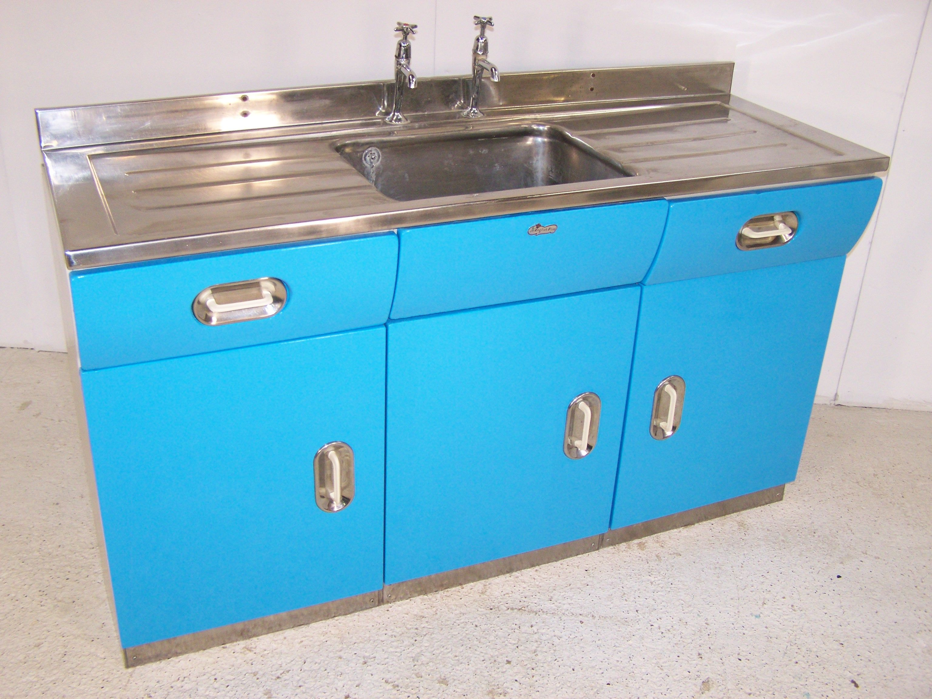 Best Kitchen Gallery: English Rose Kitchen Sink Double Wall Unit 1950's Sinks of Metal Kitchen Sink Cabinet Unit on rachelxblog.com