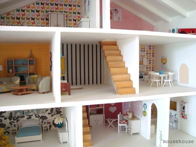 This is a doll house  Would love to recreate with a class  let them     This is a doll house  Would love to recreate with a class  let them