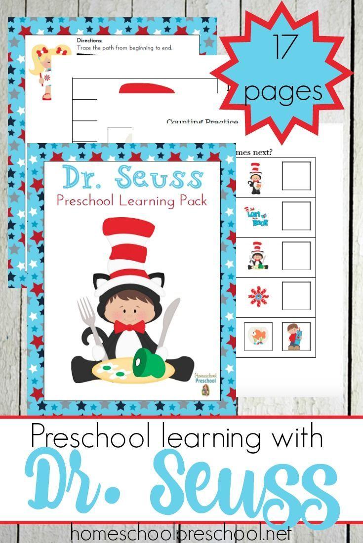 Dr Suess Med Preschool Le Rn G P Ck Fun Ctivities