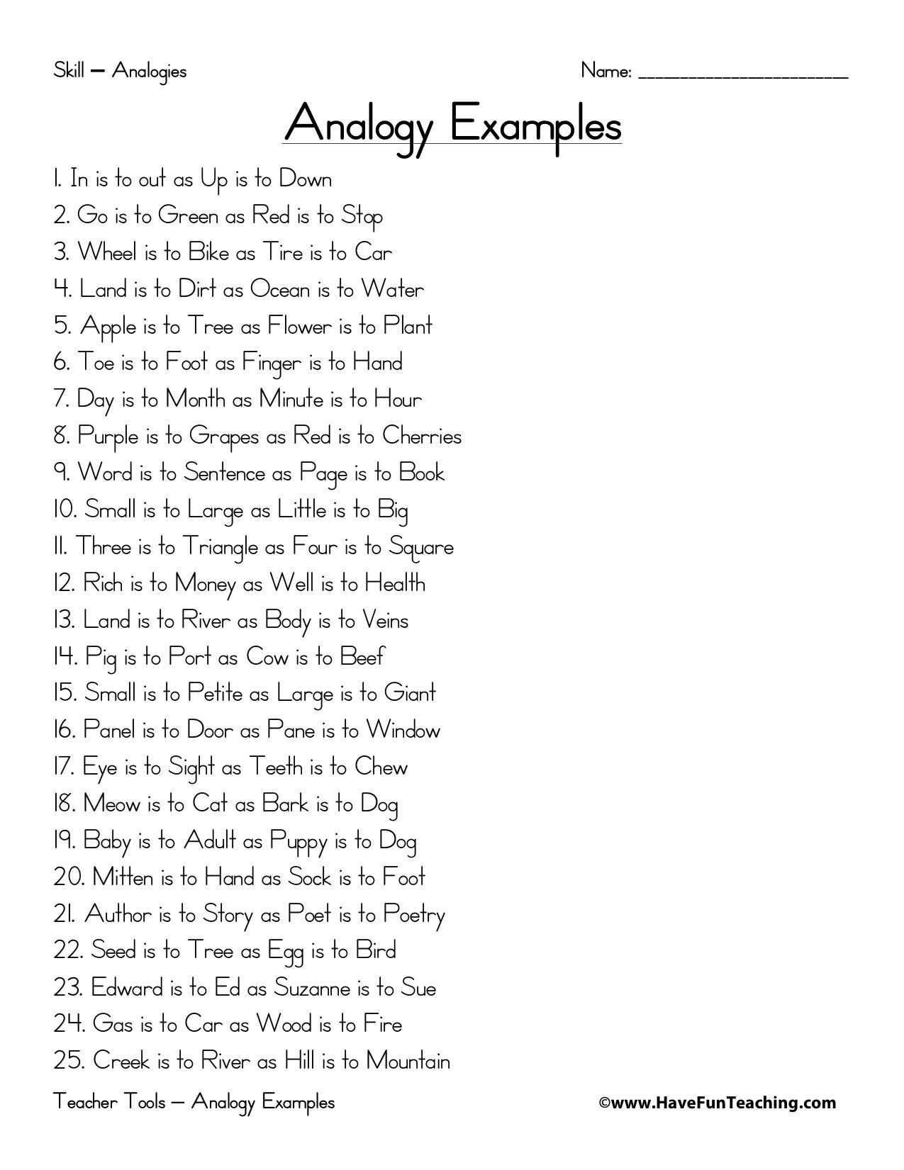 worksheet Analogies For Middle School Students Worksheets analogy worksheets middle school free library download n logy liter cy p terest l ngu ge nd rts