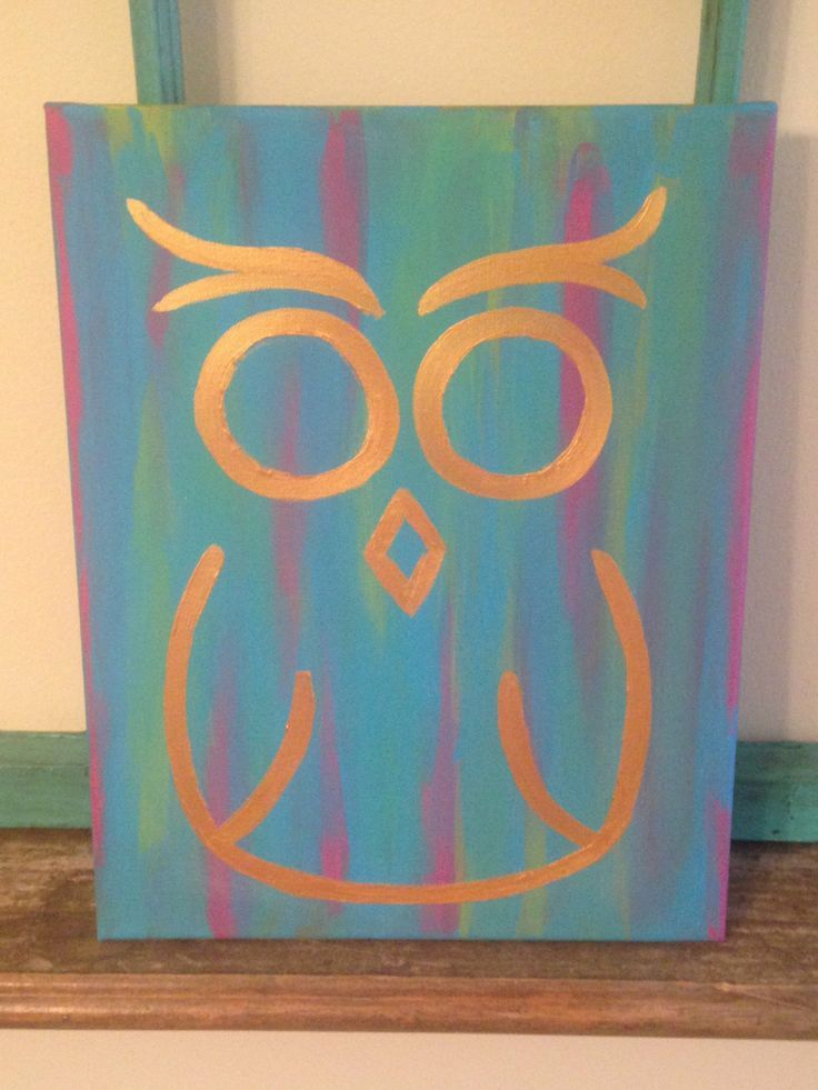 30 Easy Canvas Painting Ideas   Canvases, Paintings and Easy