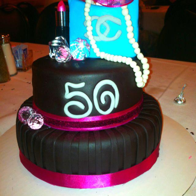50 Amp Fabulous Birthday Cake Cakes Pinterest 50