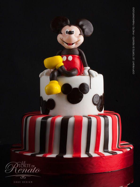 Torta De Mickey Mouse Mickey Mouse Pinterest