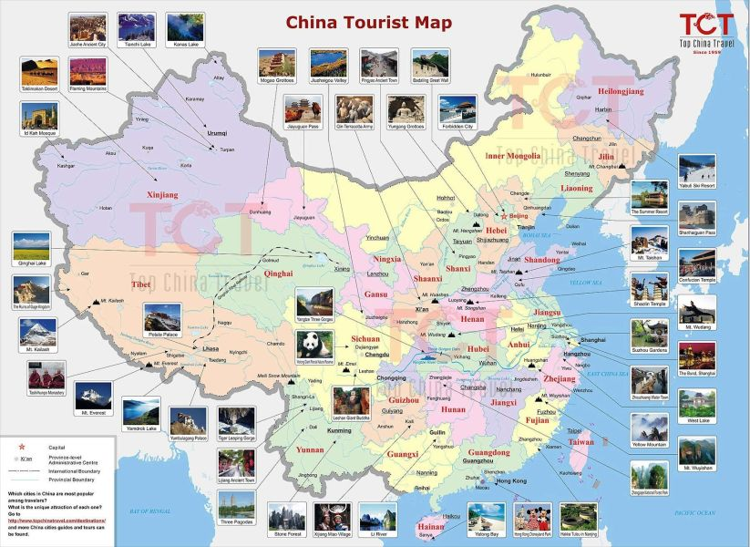 China Tourist Map   super inspiring for trip planning  3       Maps     china map   Google Search