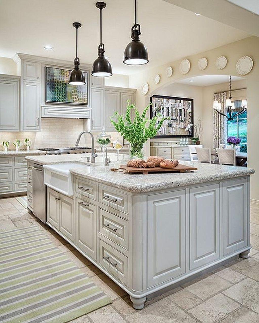 Best Kitchen Gallery: 88 Amazing Farmhouse Kitchen Paint Colors Ideas Kitchen Paint of Farmhouse Kitchen Paint Colors on rachelxblog.com