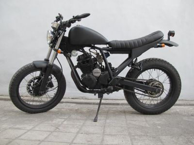 2005 Yamaha Scorpio in Matte Black by Island Motorcycles ...