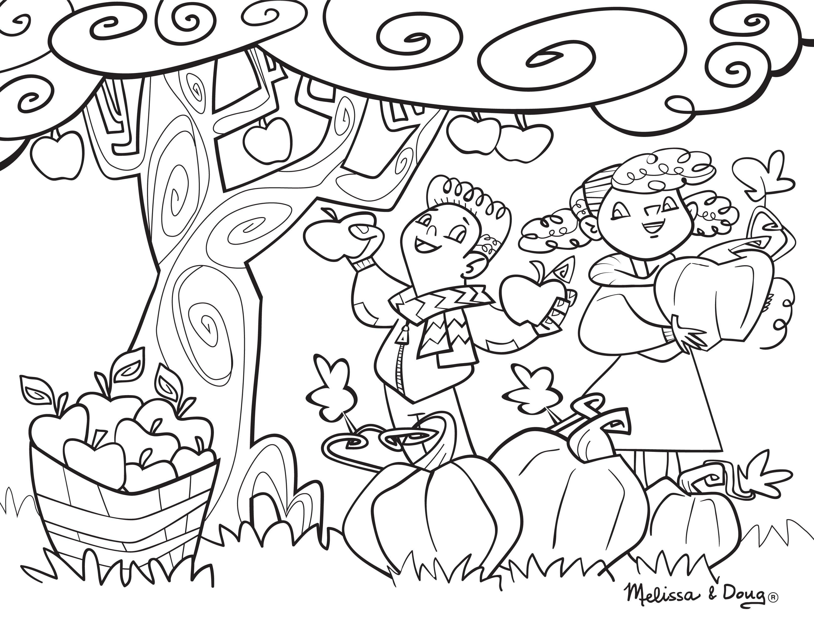 Apple Printable Coloring Page For Kids Printables Pinterest