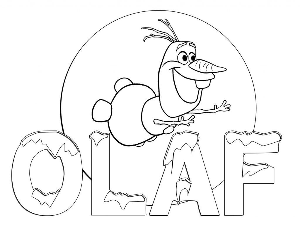 Frozen Coloring Sheet Olaf Disney Coloring Pages Pinterest