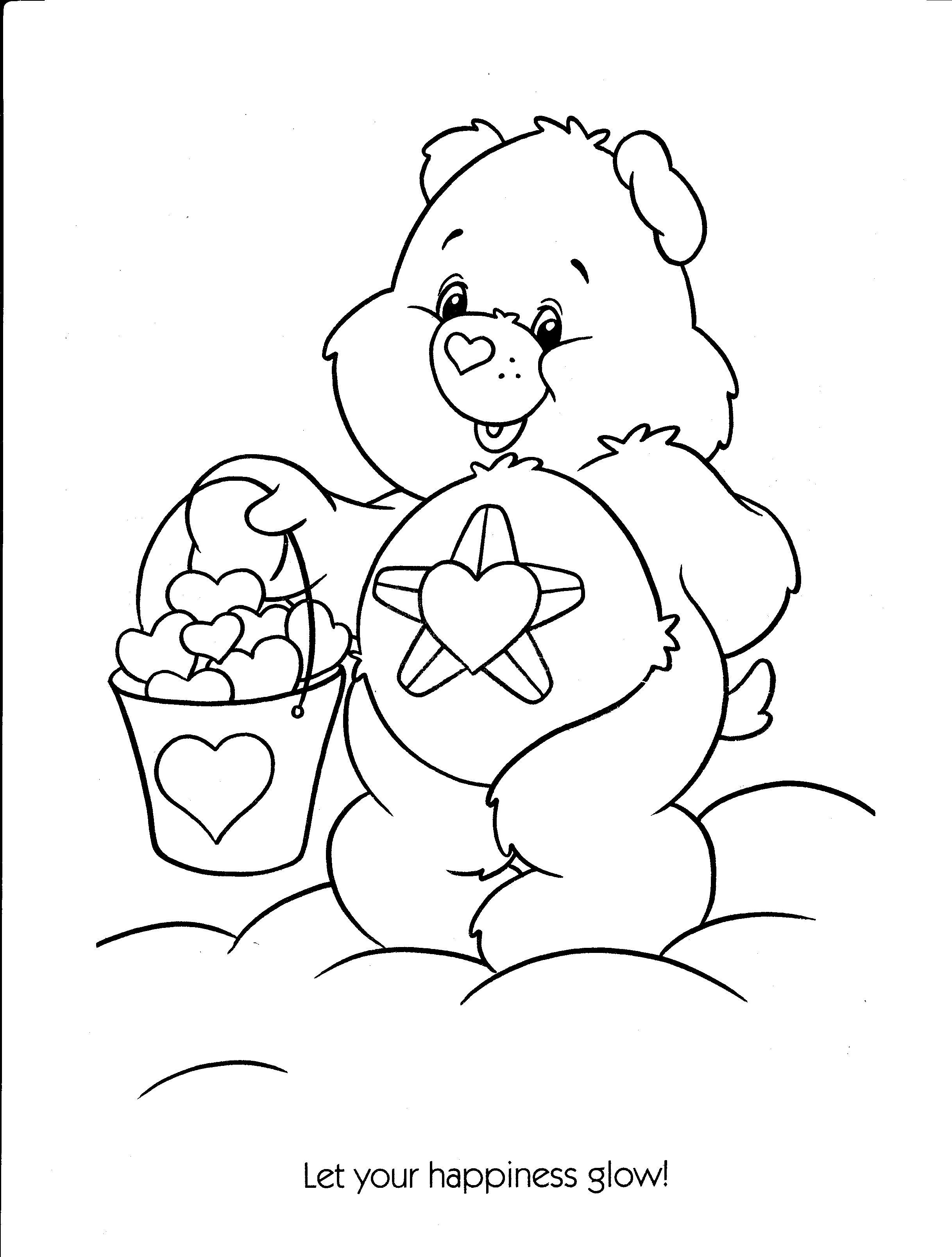 Care Bear Coloring Page Imageseldiariodelasvocesrobadas Coloring