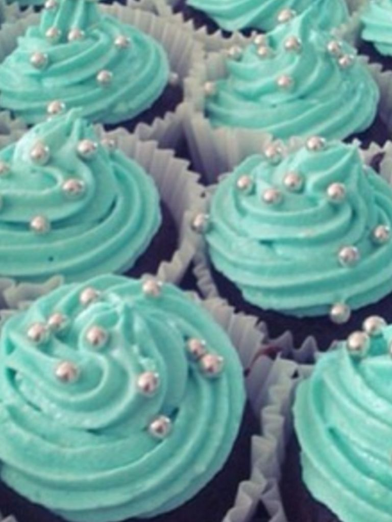Teal Cupcakes Dahlias Bridal Shower Pinterest Teal