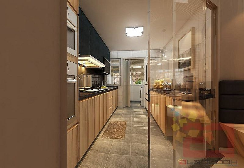 Hdb Bto 4 Room Natural Wood Design Blk 528b Costa Ris
