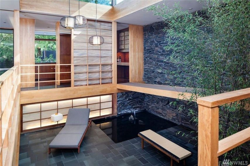 This Mid Century House In Seattle Is Full Of Asian Influences   Mid     Paul Hayden Kirk mid century house seattle   interior