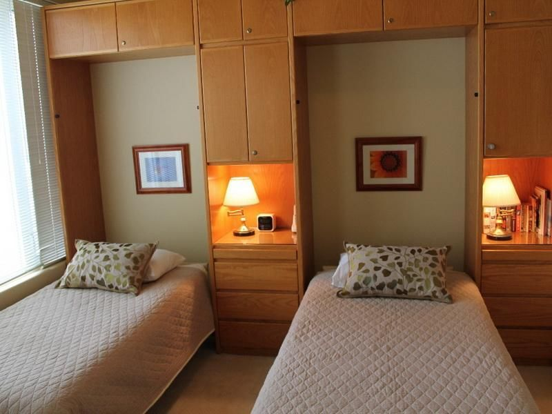 Bedroom Twin Size Murphy Bed Is Perfect For Minimalist