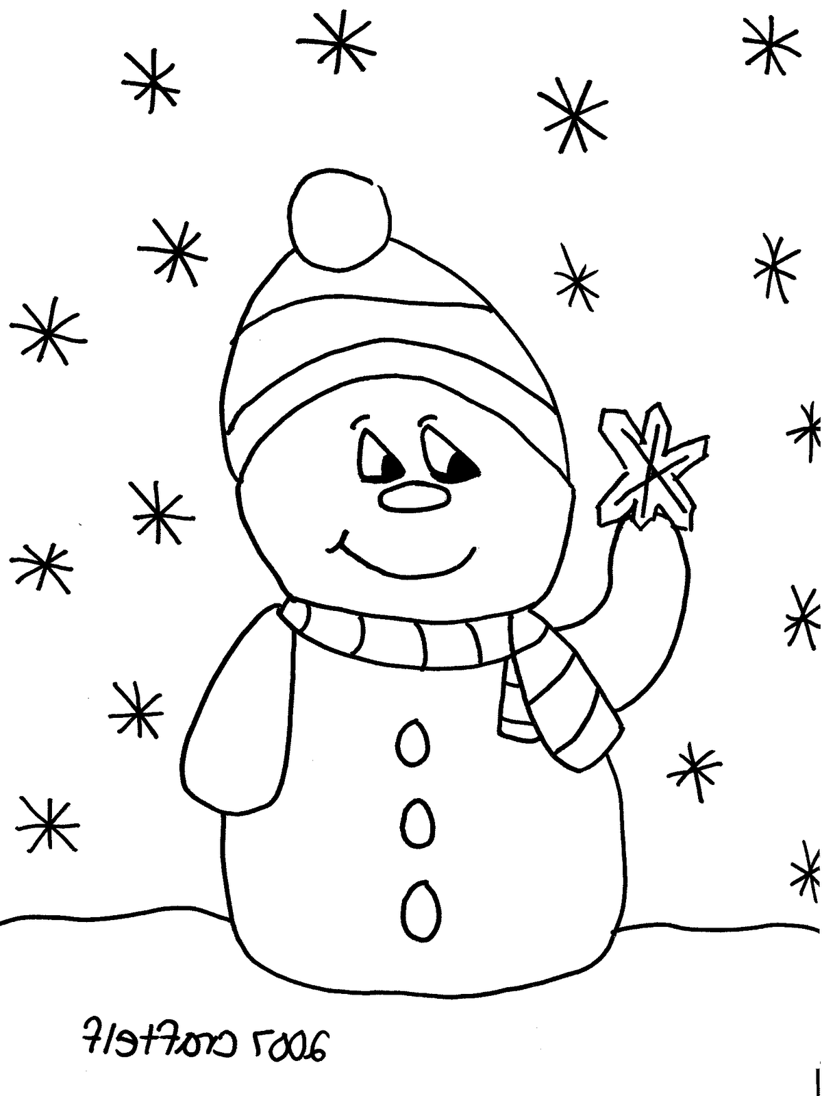 Christmas Coloring Pages For Kindergarten Tags Coloring Pages