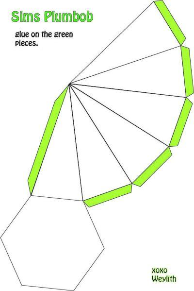make your own sims plumbob!   DIY   Pinterest   Sims ...