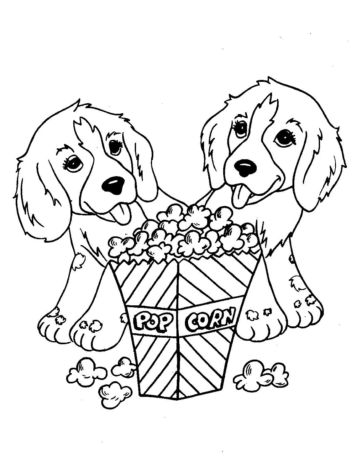 Coloring Pages Of Dogs And Puppies Free Coloring Pages Of Puppies