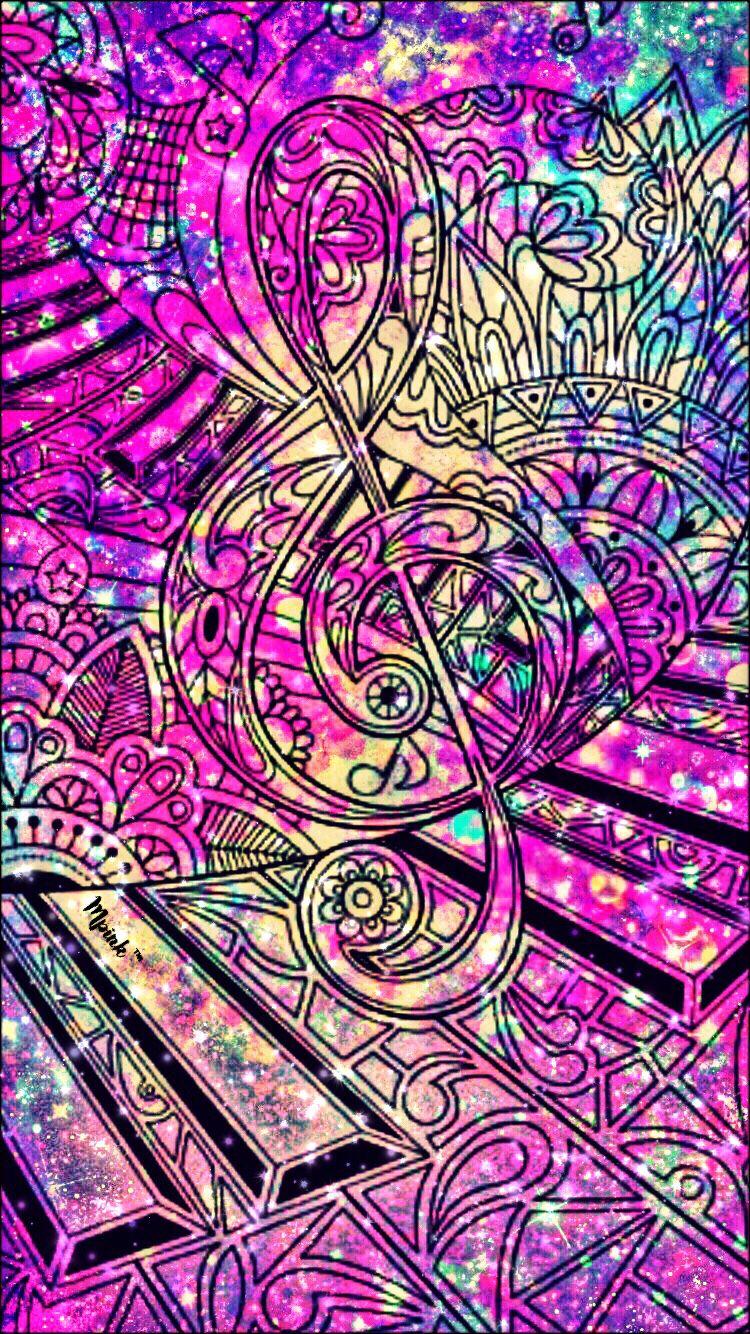 Music Melody Wallpaper/Lockscreen Girly, Cute, Wallpapers ...