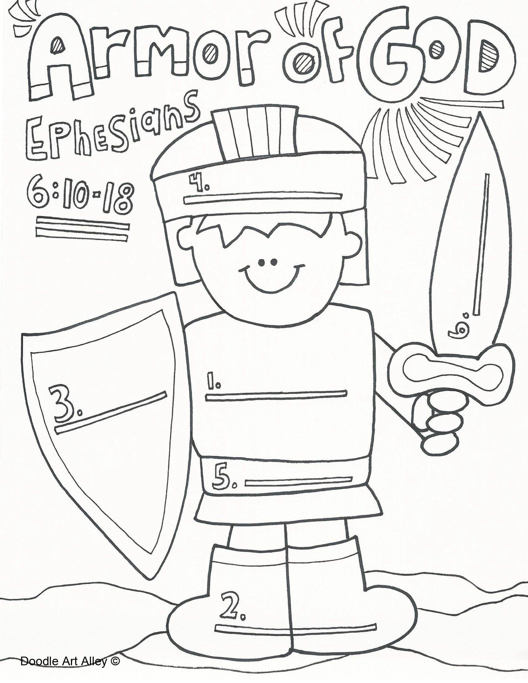 The Christmas Angel blog- teaching the armor of God!   The ...