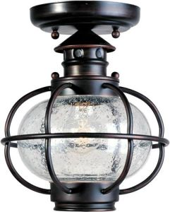 8 inchw Portsmouth 1 Light Outdoor Ceiling Mount Oil Rubbed Bronze     8 inchw Portsmouth 1 Light Outdoor Ceiling Mount Oil Rubbed Bronze