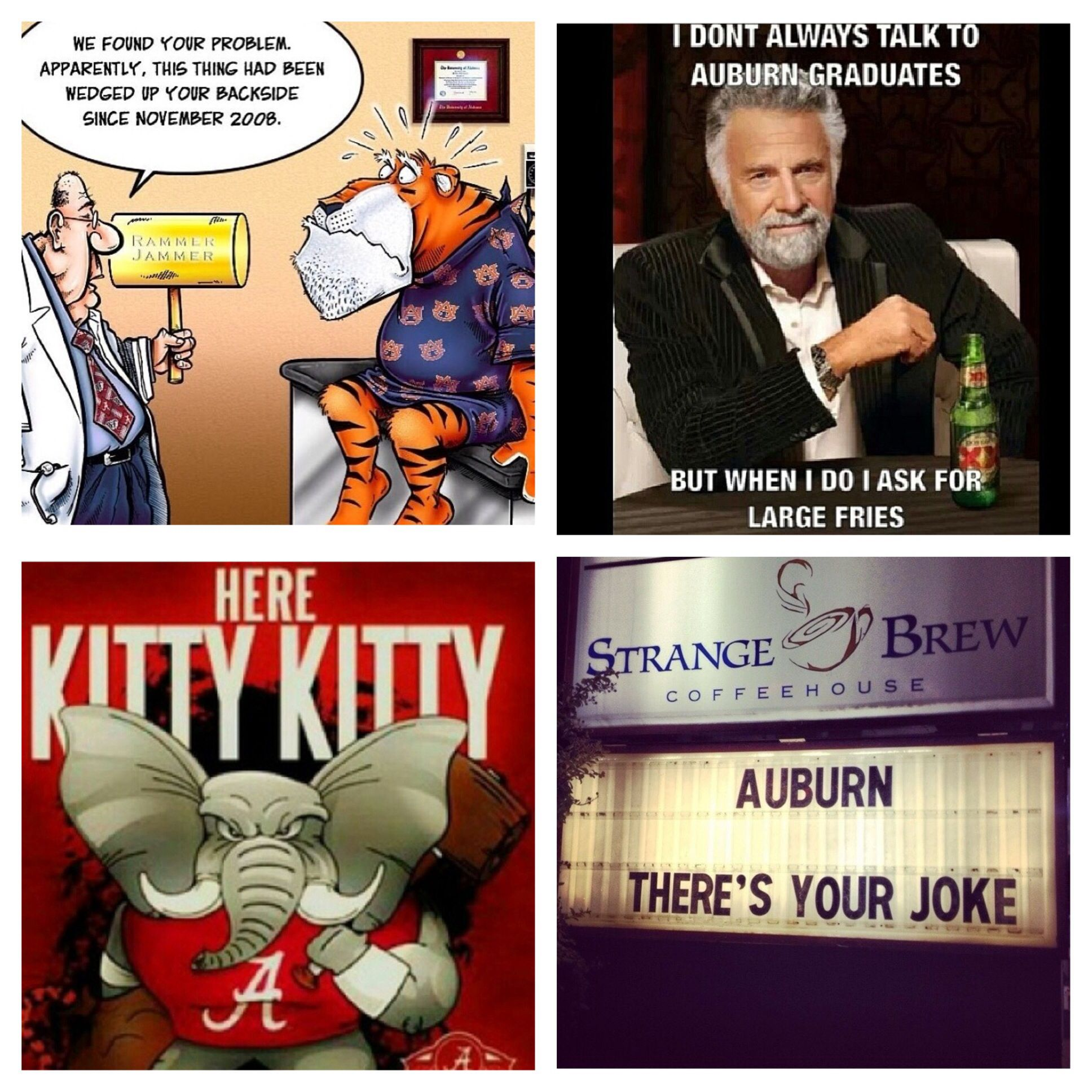 Auburn Hate Week ROLL TIDE | Sweet Home Alabama ...