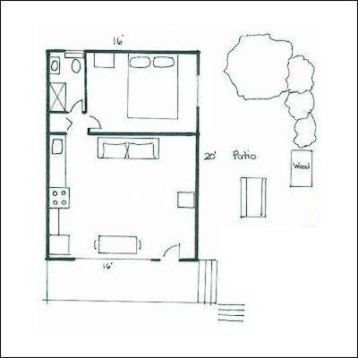 Floor Plans On Pinterest Cabin Plans Guest Houses And