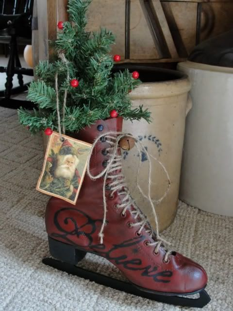 Charming Shabby Chic Christmas Decorating Ideas   Shabby chic     Charming Shabby Chic Christmas Decorating Ideas