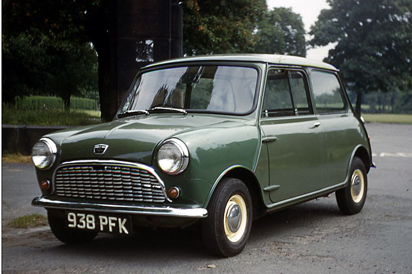 My first car  from new in 1963  Austin Mini in Almond Green  336 KBM     My first car  from new in 1963  Austin Mini in Almond Green  336