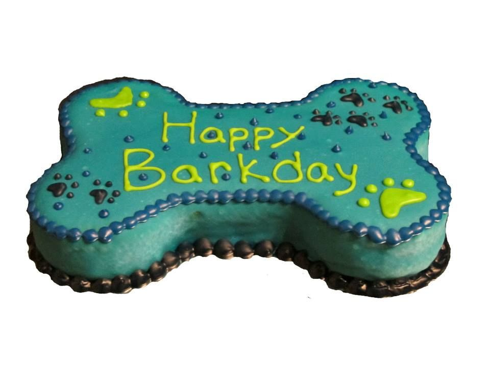 Dog Bone Birthday Cake Bone Shaped Dog Cakes Yogurt